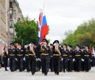 Orel Ryssland - Maj 9, 2017: Beröm av den 72. årsdagen av t Royaltyfria Foton