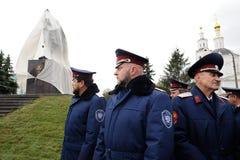 Orel Ryssland - Oktober 14, 2016: Ivan den öppna ruskiga monumentet Royaltyfri Fotografi