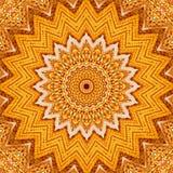 Orelha de milho Kaleidoscopic Foto de Stock Royalty Free