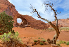Orelha do vento, vale do monumento Fotografia de Stock Royalty Free