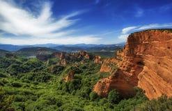 Orellan. Las Medulas Natural Partk, Spain Stock Image