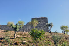 Orem城堡中世纪城市,葡萄牙 免版税图库摄影