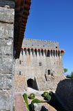 Orem城堡中世纪城市,葡萄牙 库存照片