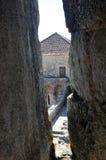 Orem城堡中世纪城市,葡萄牙 免版税库存图片