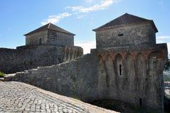 Orem Grodowy Średniowieczny miasto, Portugalia Fotografia Royalty Free