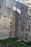 Orem Grodowy Średniowieczny miasto, Portugalia Zdjęcia Stock