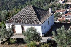 Orem medeltida stad, Portugal Arkivfoton