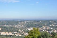 Orem Średniowieczny miasto, Portugalia Obraz Royalty Free