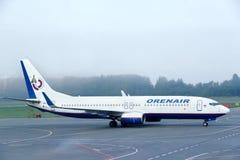 Orenair Boeing 737 Stock Images