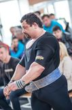 Orenburg oblast Championship Powerlifting Stock Photography