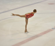 Orenburg, Rosja - 26 03 2016: Dziewczyny postaci łyżwiarka Obraz Royalty Free
