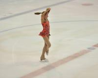 Orenburg, Rosja - 26 03 2016: Dziewczyny postaci łyżwiarka Obraz Stock