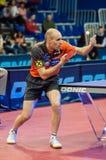 Orenburg, Rosja - 03 04 2015: Stołowego tenisa rywalizacje Obraz Royalty Free