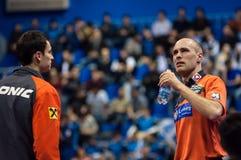 Orenburg, Rosja - 03 04 2015: Stołowego tenisa rywalizacje Zdjęcia Stock