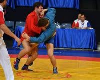 Orenburg, Rusia - 29 de octubre de 2016: Zambo de las competencias de los muchachos Imagen de archivo libre de regalías