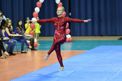 Free Orenburg, Russia, 26-27 May 2017 Years: Juniors Compete In Sports Acrobatics Stock Photography - 96901672