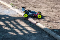 Orenburg, Russia - 20 August 2016: Amateurs car model  sports compete on the off-road track Stock Images