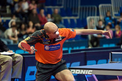 Orenburg, Russia - 03.04.2015: Table tennis competitions Stock Photo
