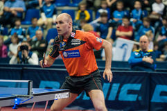 Orenburg, Russia - 03.04.2015: Table tennis competitions Stock Photos