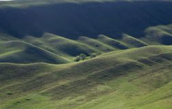 Orenburg Tuscany vårafton arkivbild