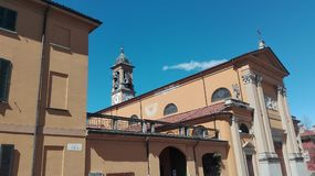 Oreno-Kirche stockbilder