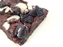 Oreo Brownies Stock Photography