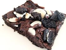 Oreo Brownies Royalty Free Stock Photography