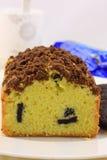 Oreo butter cake Stock Photo