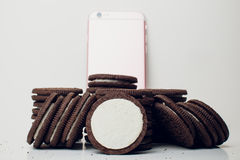 Oreo cookies Royalty Free Stock Images