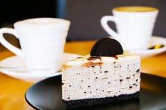 Oreo-Kuchen Stockbild