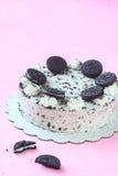 Oreo Mousse Cake Stock Image