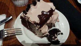 Oreo-Plätzchen-Kuchen Lizenzfreies Stockbild