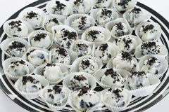 Oreo truffles. Shot of yummy oreo truffles Royalty Free Stock Photos