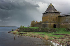 Oreshek Fortress Royalty Free Stock Photo