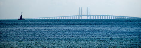Oresund Brücke Lizenzfreies Stockbild