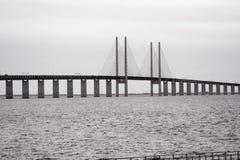 Oresund Bridge Stock Photo