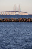 Oresund bridge Stock Image