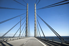 Oresund bridge Royalty Free Stock Photos