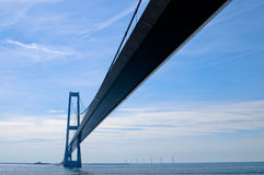 The Oresund bridge Royalty Free Stock Image