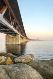 Oresund Bridge,Malamo, Sweden, Scandinavia Stock Photo