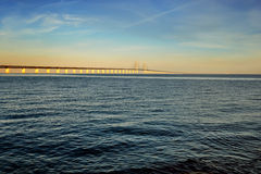 The Oresund Bridge,Malamo, Sweden Stock Photography