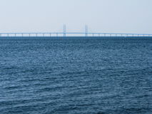 Oresund Bridge Malmo Sweden Stock Images