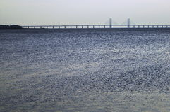 Oresund Bridge Malmo Sweden Royalty Free Stock Photos