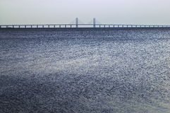 Oresund Bridge Malmo Sweden Royalty Free Stock Image