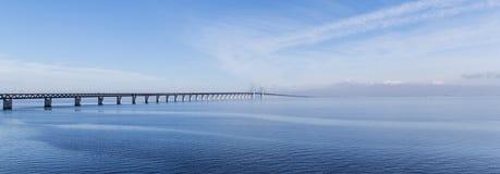 The Oresund Bridge,oresunds bron Stock Image