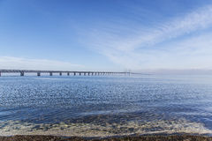 The Oresund Bridge,oresunds bron Stock Images