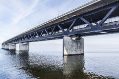The Oresund Bridge,oresunds bron Royalty Free Stock Photography