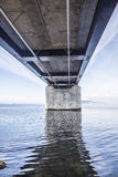 The Oresund Bridge,oresunds bron Royalty Free Stock Image