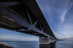 The Oresund Bridge,oresunds bron Stock Image