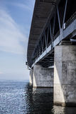 The Oresund Bridge,oresunds bron Stock Photography